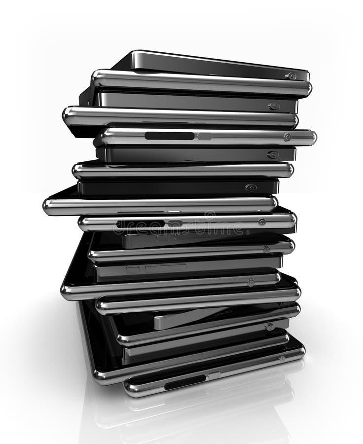Sort de tablettes illustration libre de droits