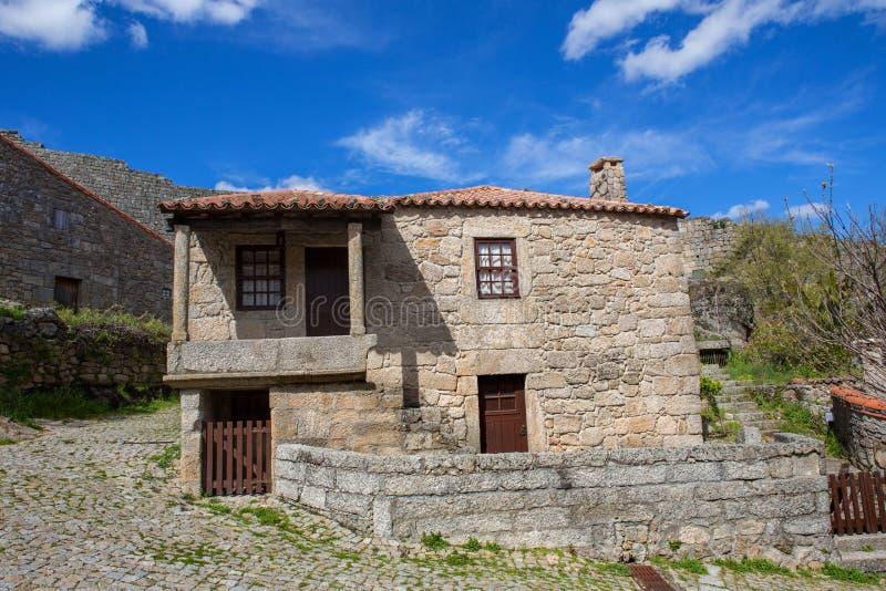 Sortelha. Historical village of Sortelha, Portugal royalty free stock photography