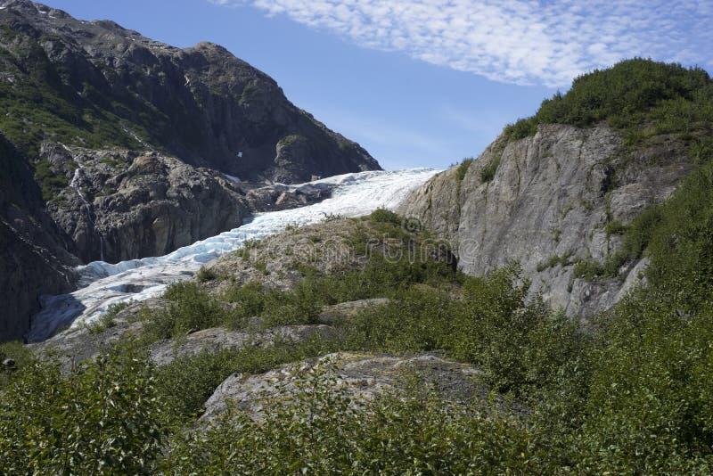 Sortez le glacier, Seward Alaska images stock
