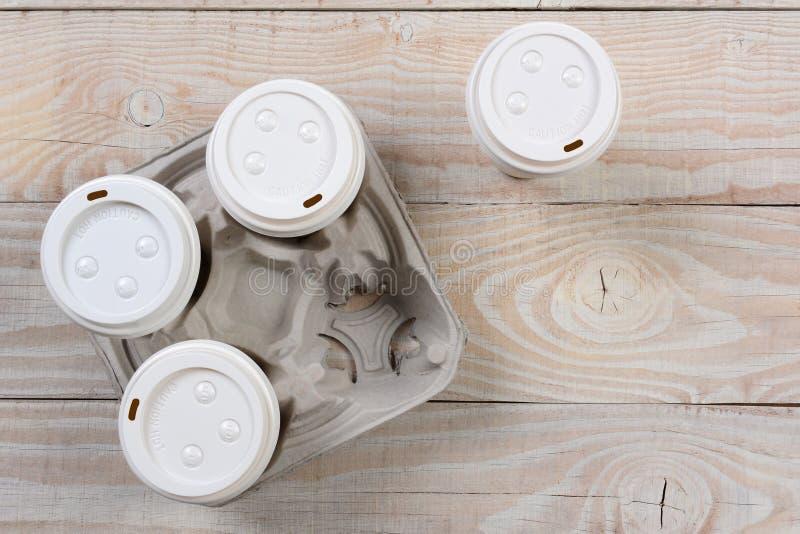 Sortez le transporteur de café photo libre de droits
