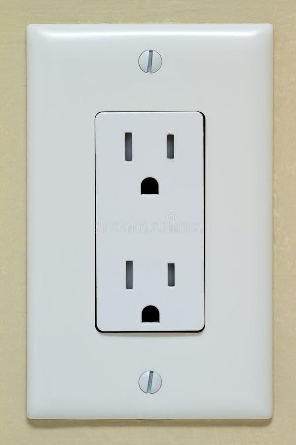 Sortie électrique images stock