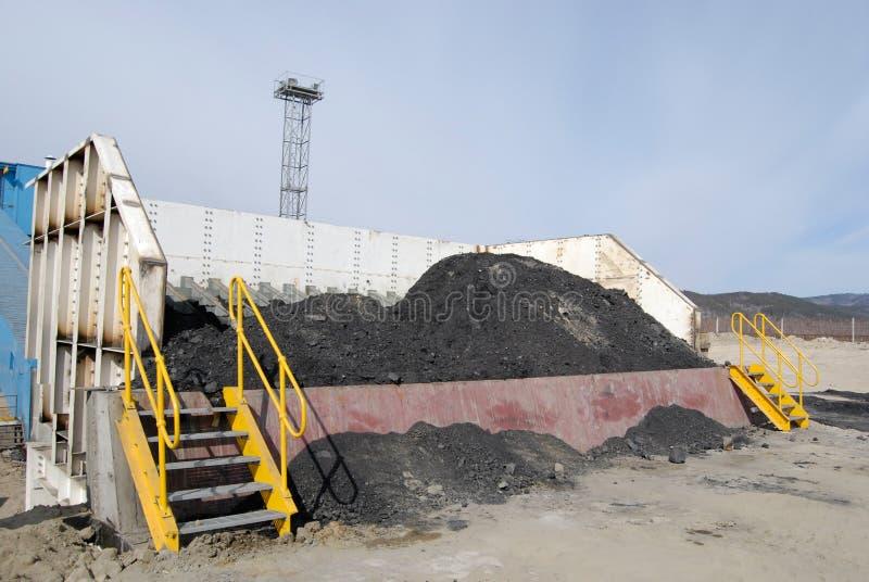 Sortie de charbon photos libres de droits