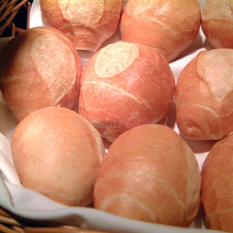 Sortierte Brotbrötchen stockfoto
