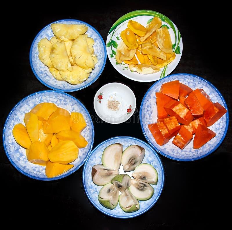 Sortierte Früchte lizenzfreies stockfoto