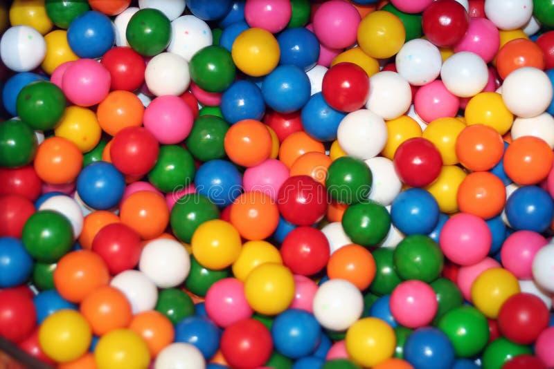 Sortierte Gummi-Kugeln lizenzfreies stockfoto