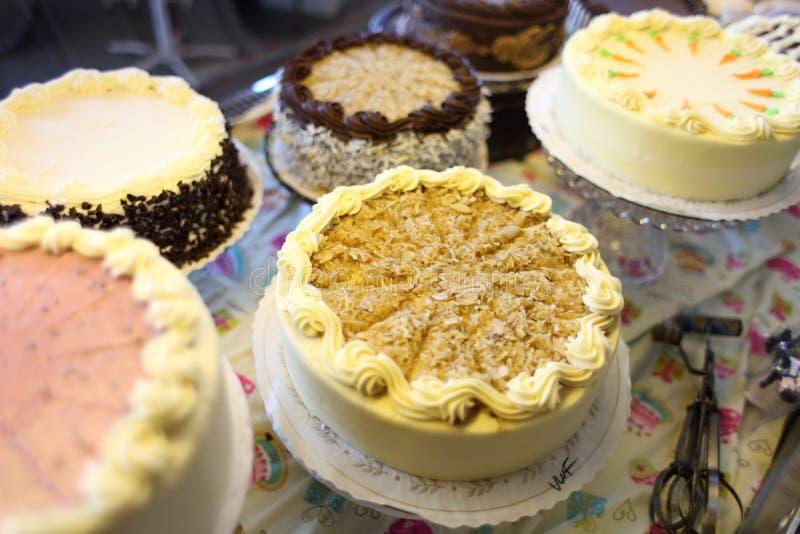 Download Sortierte Kuchen stockfoto. Bild von feinschmecker, bereifen - 26362626