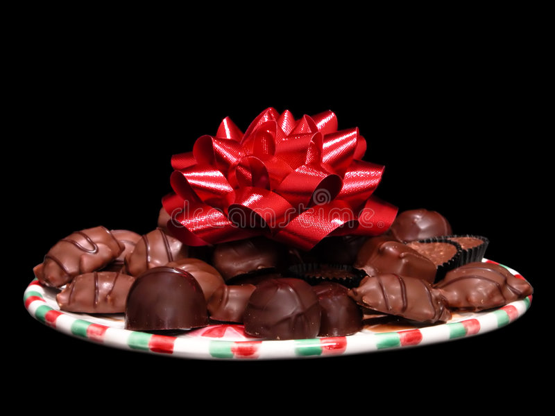 Download Sortierte Schokoladen stockfoto. Bild von schwarzes, süß - 41088