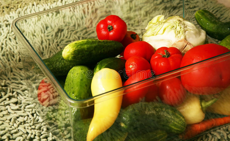 Sortiertes Gemüse stockfotografie