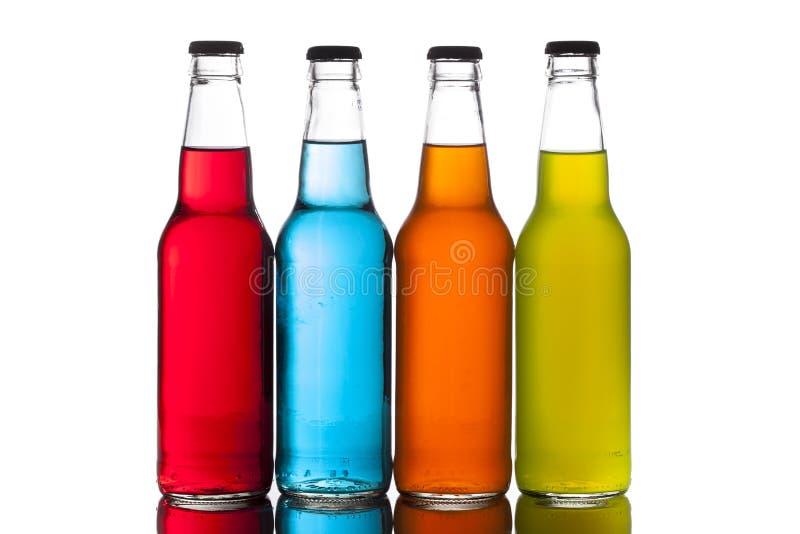 Sortiertes organisches Handwerks-Soda stockbild