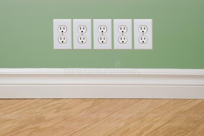 Sorties de concept de crise énergétique images stock