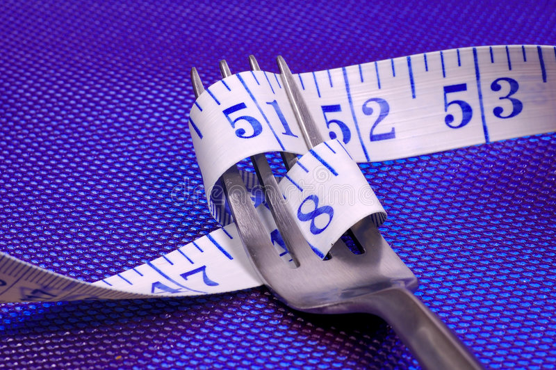 Sorveglianza del vostro peso immagini stock