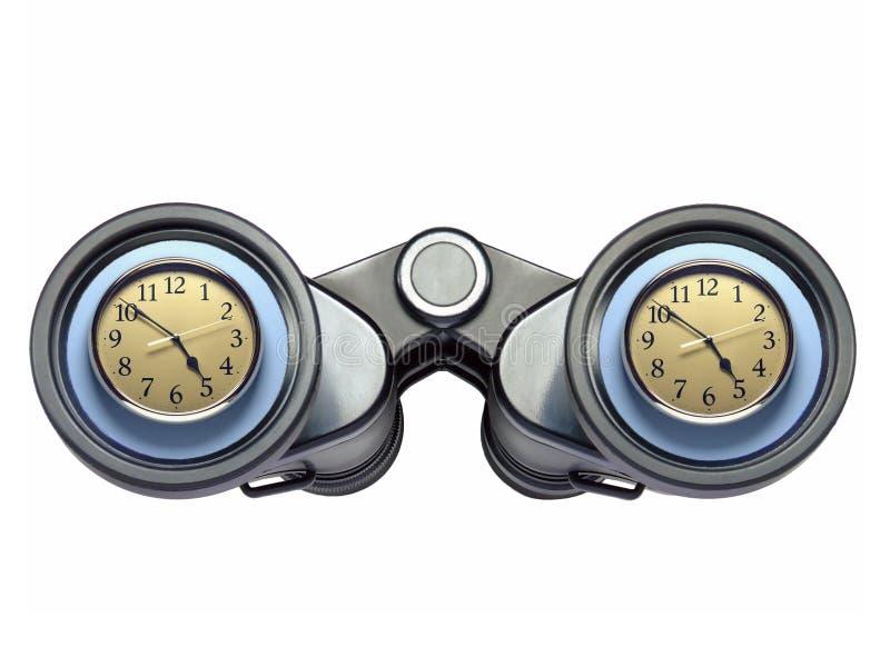 Sorveglianza dell'orologio fotografie stock