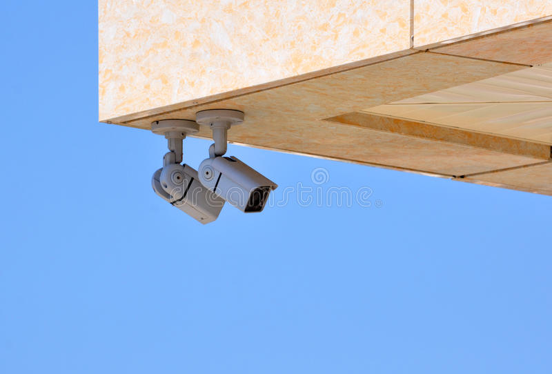 Sorveglianza di perimetro fotografia stock libera da diritti