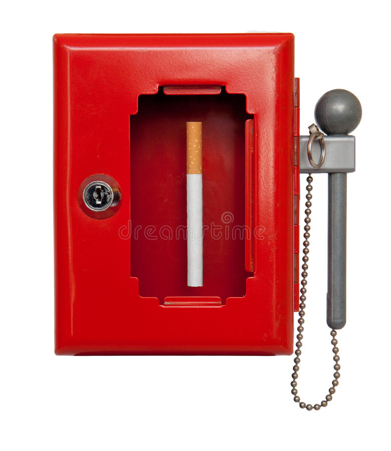 Download Sos cigarette stock photo. Image of break, isolated, mayday - 25307154