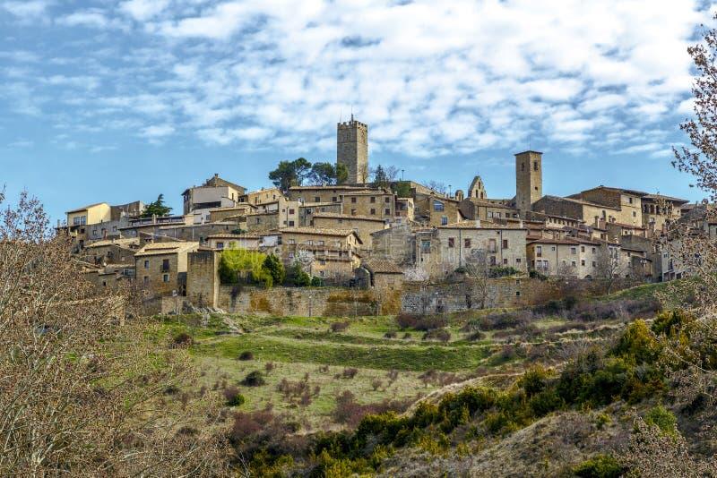 Sos-del Rey Catolico, Zaragoza, Aragon, Spanien arkivbild