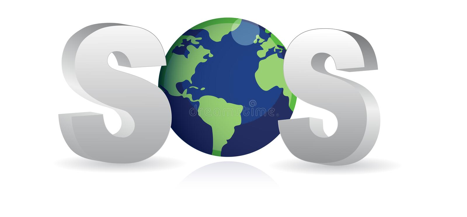 sos save the earth vector stock vector illustration of saviour rh dreamstime com earth vector image earth vector psd