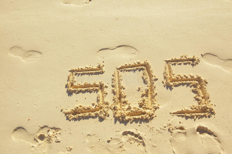 Download SOS stock photo. Image of writing, sand, beach, mark - 30986666