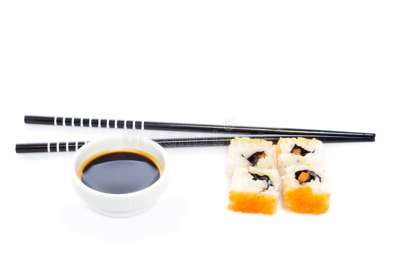 sos sojowe sushi obrazy royalty free