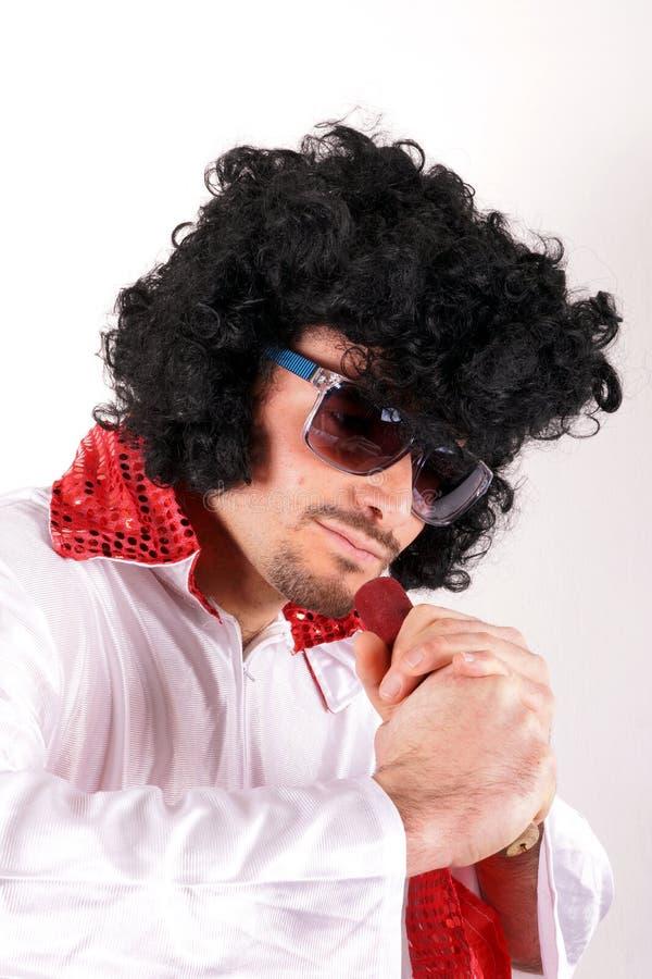 Sosia του Elvis Presley στοκ εικόνα με δικαίωμα ελεύθερης χρήσης