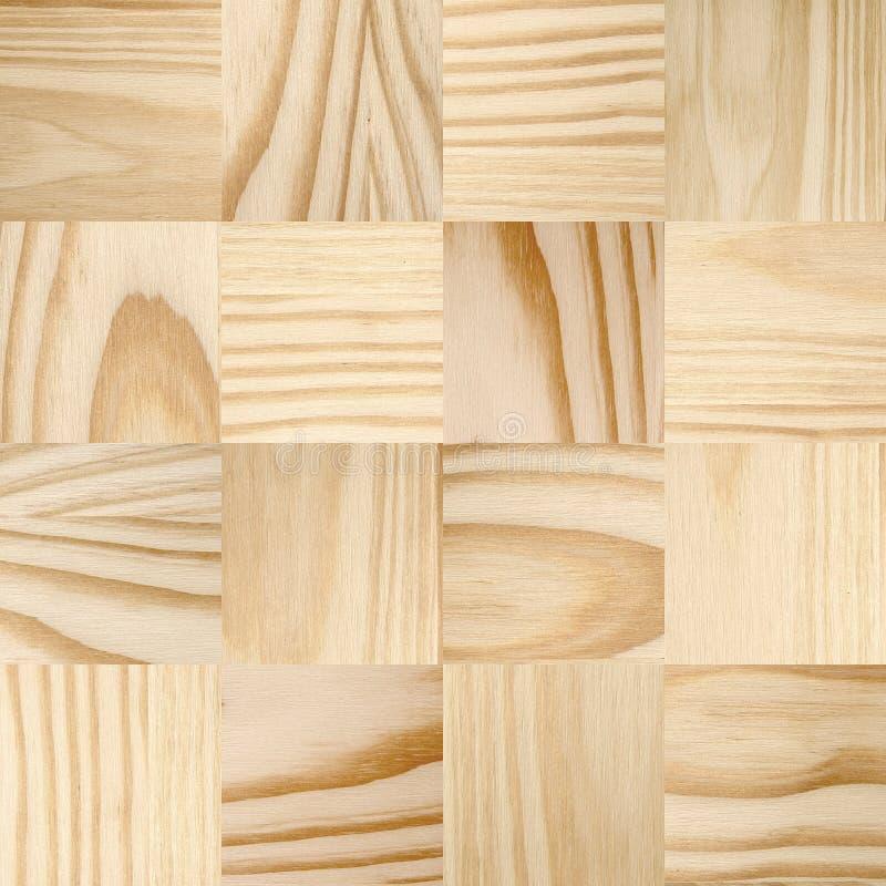 Sosnowego drewna płytki zdjęcie royalty free
