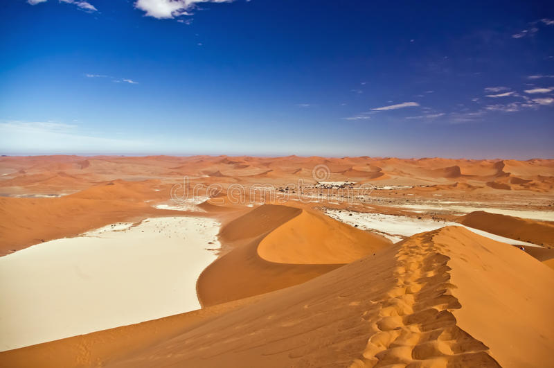 Sossuslvlei and Deadvlei in Namibia royalty free stock photo