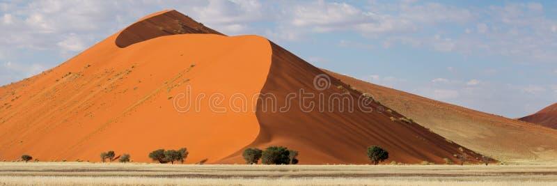 sossusvlei панорамы Намибии дюны пустыни