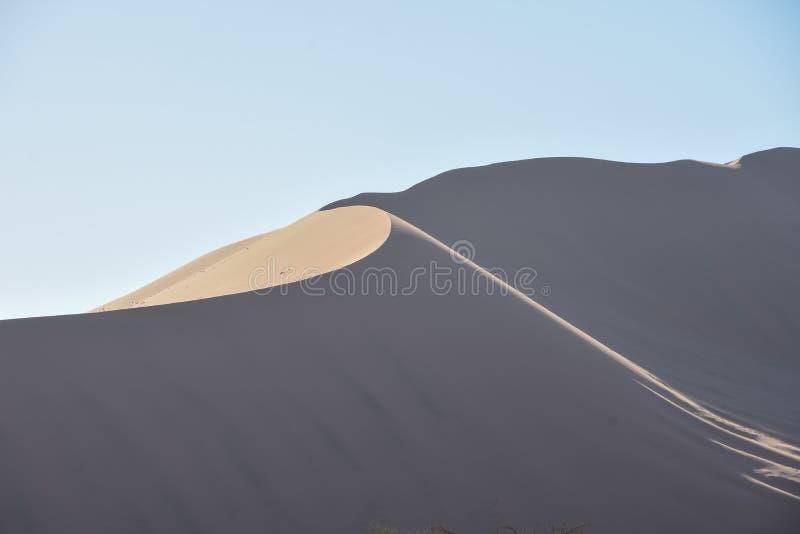 Sossusvlei - dunes et ciel bleu au coucher du soleil - la Namibie - 2017 images stock