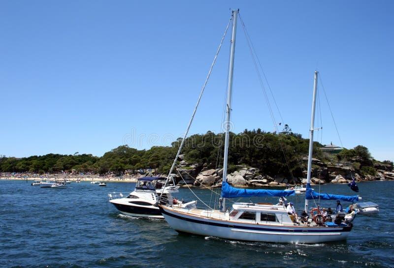 Sosta & yacht di Nielson fotografia stock libera da diritti