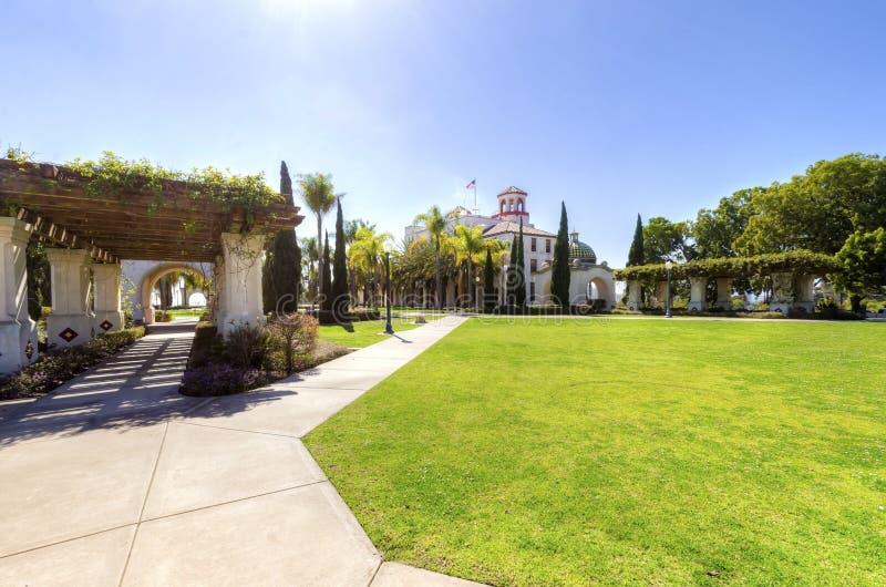Sosta della balboa, San Diego, California fotografie stock libere da diritti