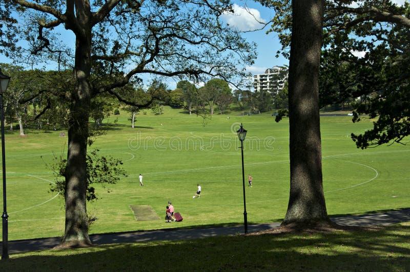 Sosta di Auckland fotografia stock libera da diritti