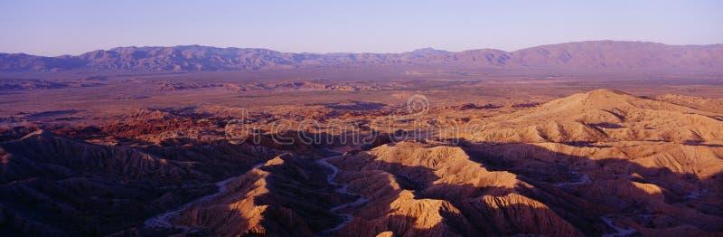 Sosta di condizione del deserto immagini stock