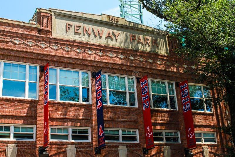 Sosta di Fenway fotografie stock