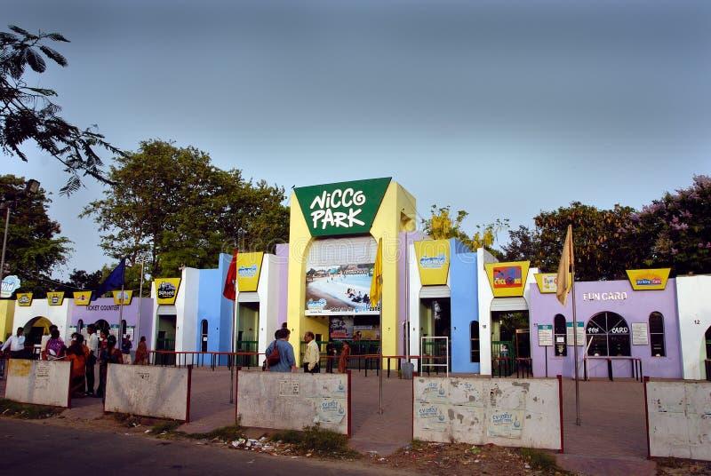 Sosta di Nicco in Kolkata-India fotografia stock