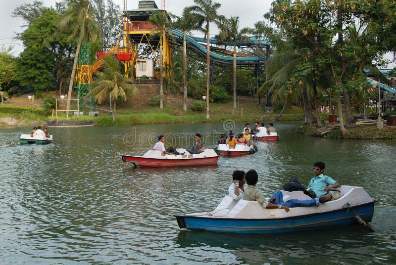 Sosta di Nicco in Kolkata-India immagini stock libere da diritti