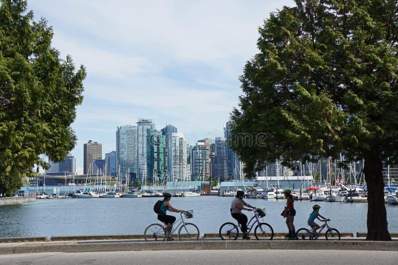 Sosta di Stanley a Vancouver immagine stock libera da diritti