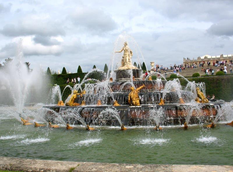 Sosta di Versailles fotografia stock libera da diritti