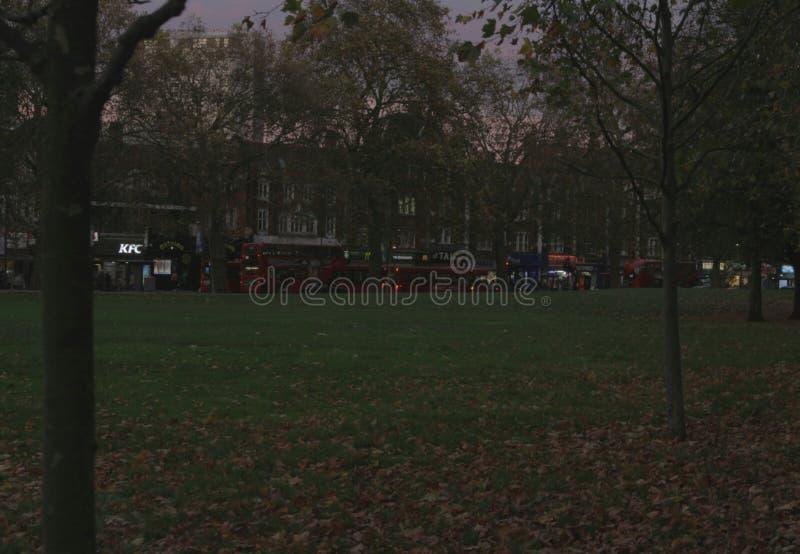 Sosta Londra immagini stock