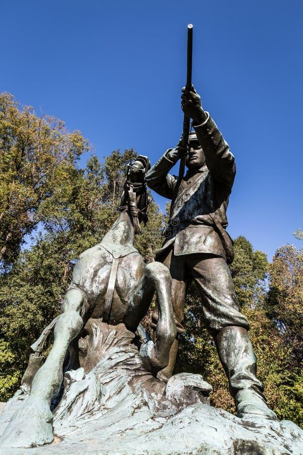 Sosta militare nazionale di Vicksburg fotografia stock