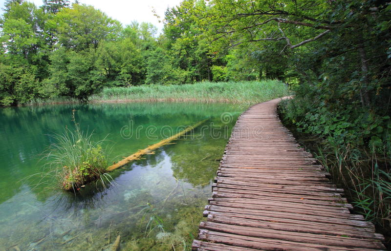 Sosta nazionale croatia di Plitvice immagine stock libera da diritti