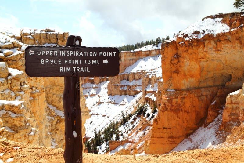 Sosta nazionale del canyon di Bryce nell'Utah fotografia stock