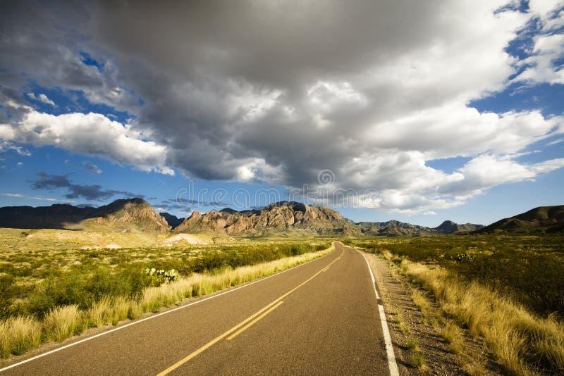 Sosta nazionale della grande curvatura, il Texas fotografie stock