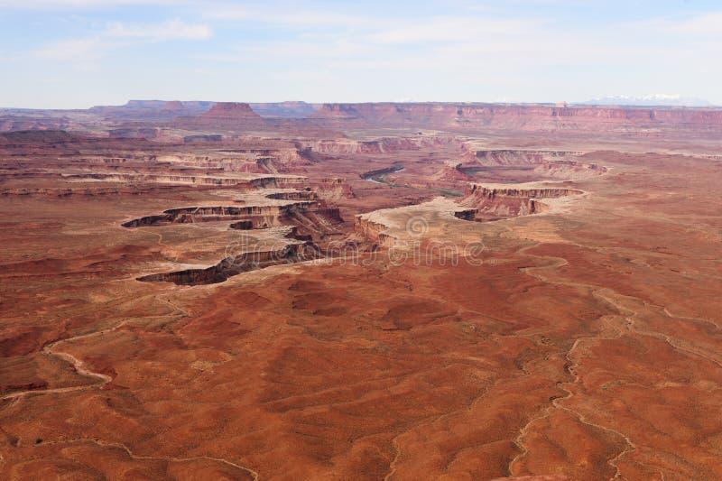 Sosta nazionale di Canyonlands immagini stock libere da diritti
