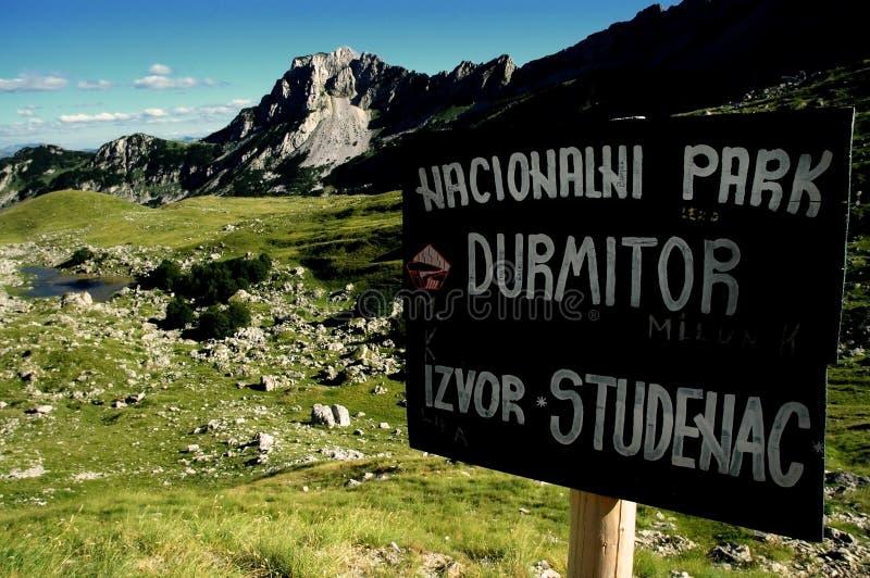 Sosta nazionale di Durmitor, Montenegro fotografia stock