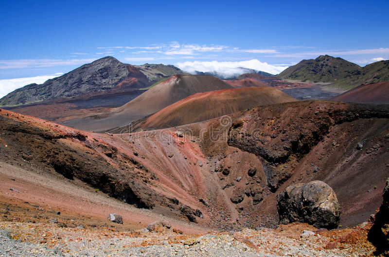 Sosta nazionale di Haleakala fotografie stock