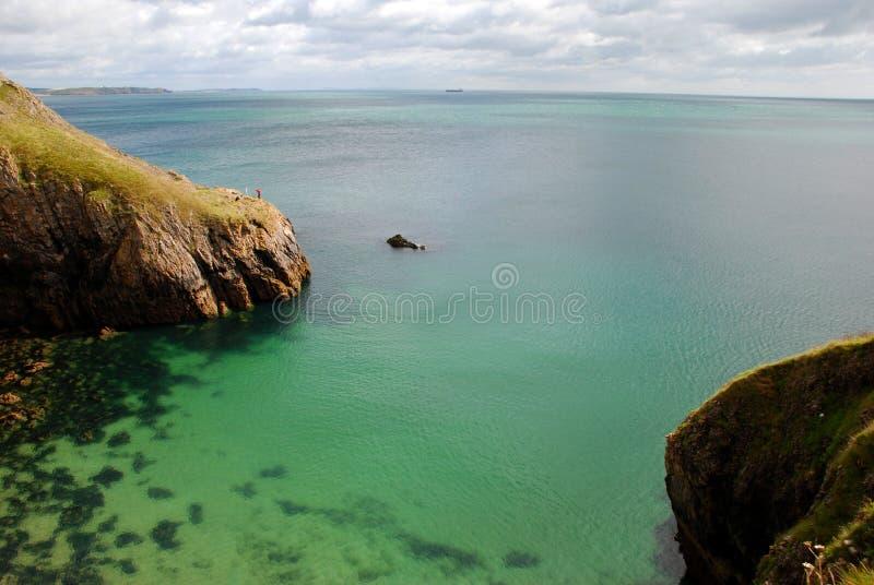 Sosta nazionale di Pembrokeshire nel Galles, Regno Unito immagini stock libere da diritti