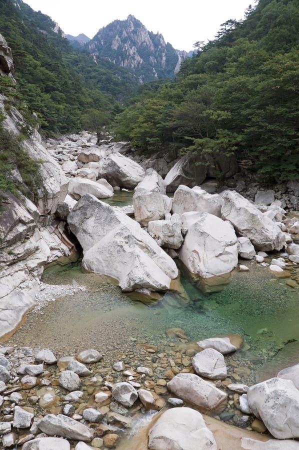 Sosta nazionale di Seoraksan, il Sud Corea fotografia stock libera da diritti