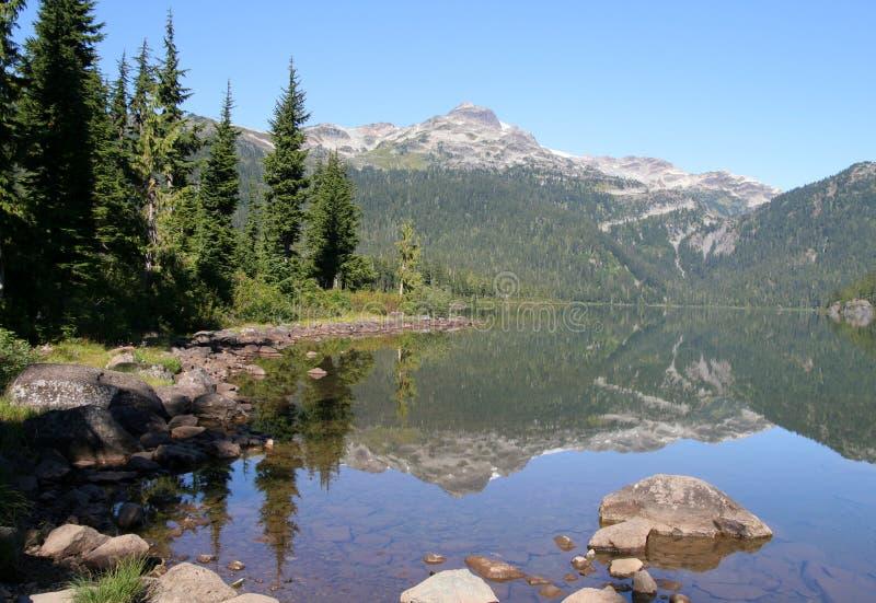 Sosta provinciale del lago Callaghan fotografia stock