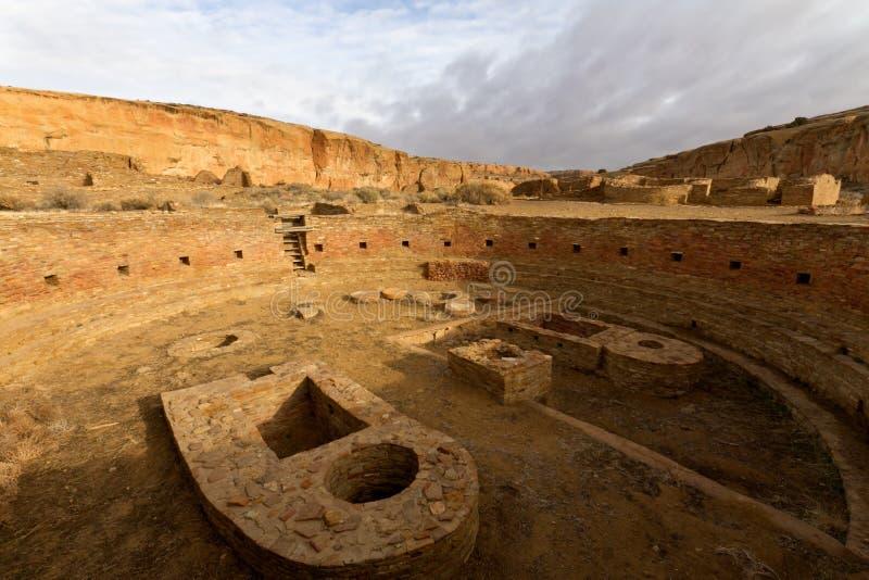 Sosta storica nazionale della coltura di Chaco immagini stock