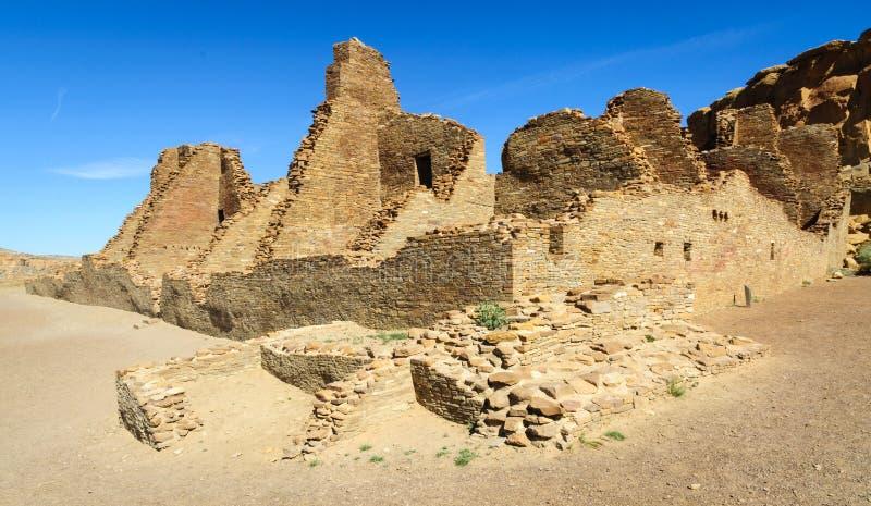 Sosta storica nazionale della coltura di Chaco fotografie stock libere da diritti