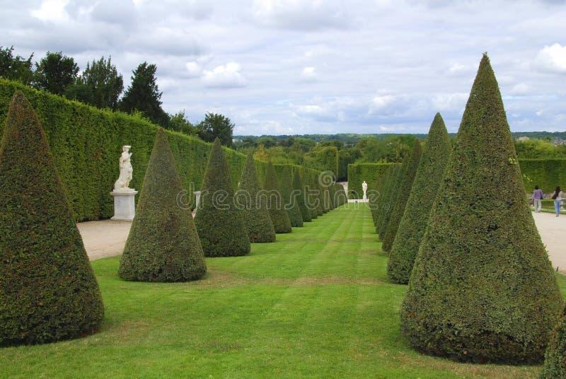 Sosta a Versailles fotografia stock libera da diritti